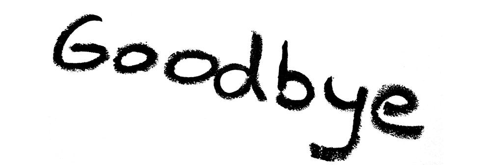Inscription-goodbye